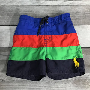 Ralph Lauren Sanibel Big Pony Swim Trunks sz 18m