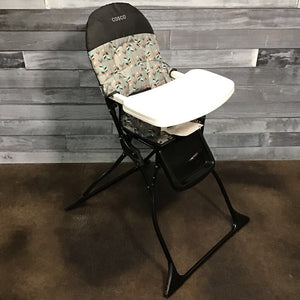 NEW Cosco Simple Fold High Chair in Etched Arrows