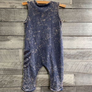 Kidding Around Asymmetrical Romper sz 18m