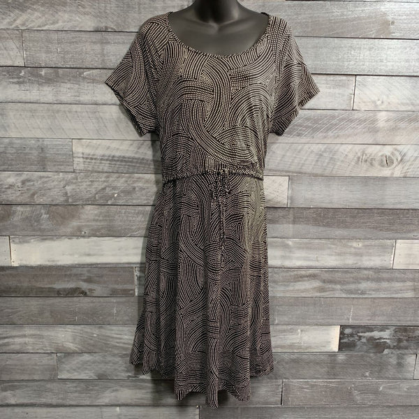 Latched Mama Drawstring T-Shirt Nursing Dress sz 1X