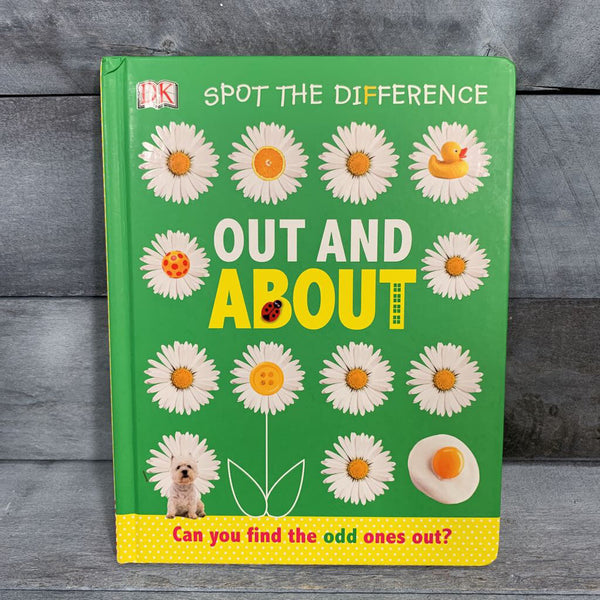 Spot the Difference: Out and About Board Book