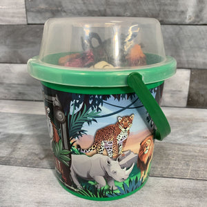 Wild Republic 36Pc Bucket Animal Playset