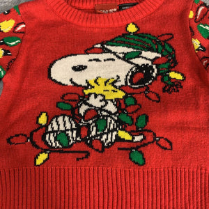 NEW Peanuts Ugly Christmas Sweater sz NB