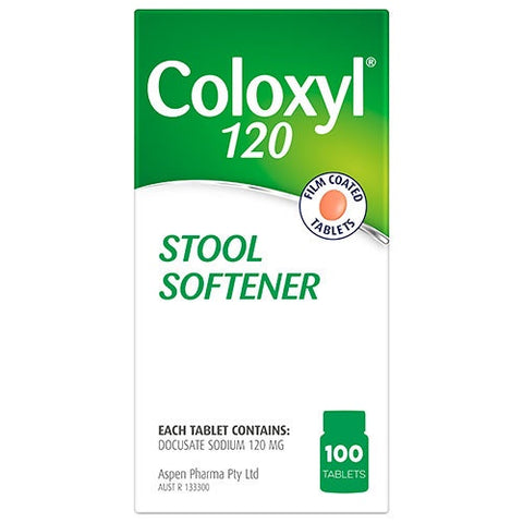Coloxyl 120mg -100 Tablets