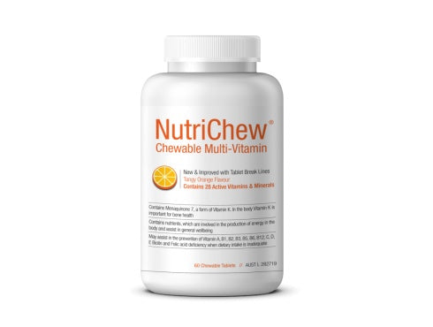 NutriChew- Chewable Multi-Vitamin