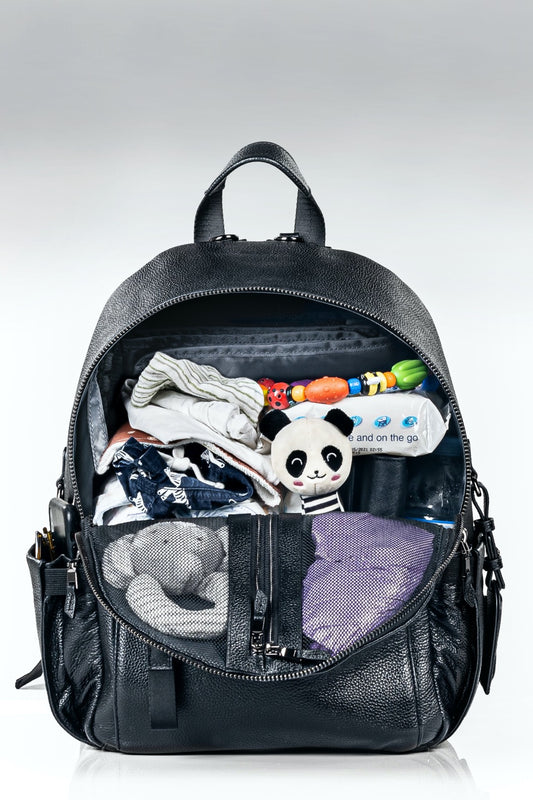 ONE NINE Nappy Backpack filled