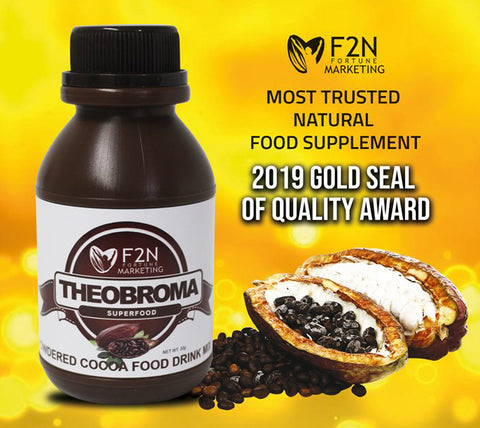 Theobroma Award - Most Trusted Natural Food Supplement 2019
