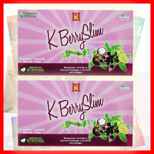 2 Boxes K Berry Slim Juice - Organic-Potion.com