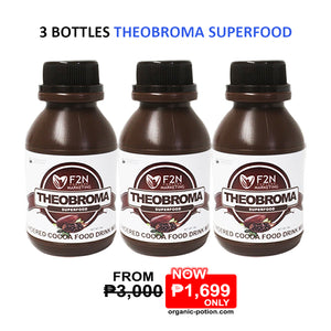 3 Bottles Theobroma Superfood - Organic-Potion.com