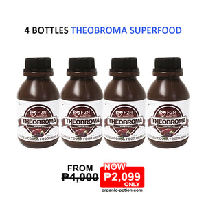 4 Bottles Theobroma Superfood - Organic-Potion.com