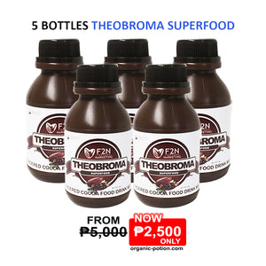 5 Bottles Theobroma Superfood - Organic-Potion.com