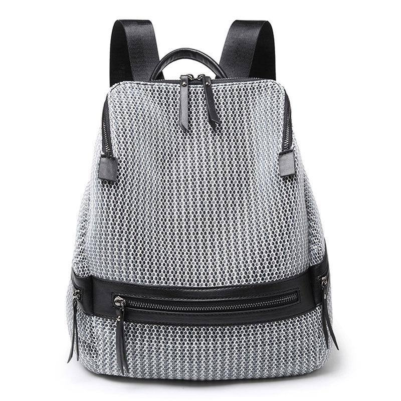 Women's Nylon Casual Backpack For School | Travel - Kalsord