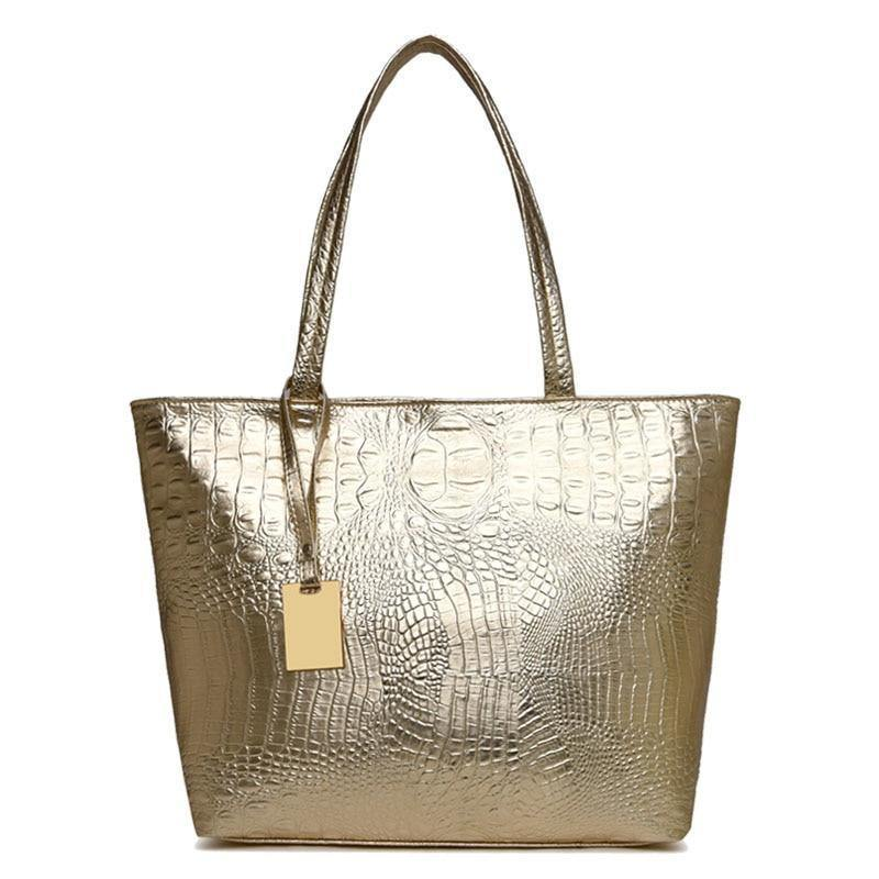 Women's Sequin Silver | Gold | Black Tote Bagbags - Kalsord