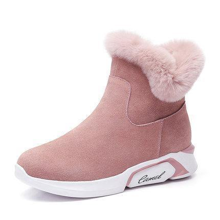 Women's Suede Snow BootWinter Boots - Kalsord