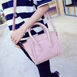Women's Soft Pink | Black Crossbody Bag - Kalsord