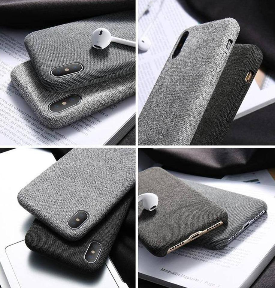 Fabric/Cloth Phone Case For iPhone 11/11 Pro/11 Pro Max X/XS Max XR 6/6S/7/8 Plus