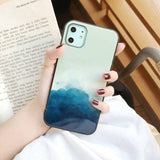 Abstract Water | Cloud Marble Pattern Phone case For iPhone 11 Pro MAX XS MAX XR 7 8 6 6s Pluscases - Kalsord