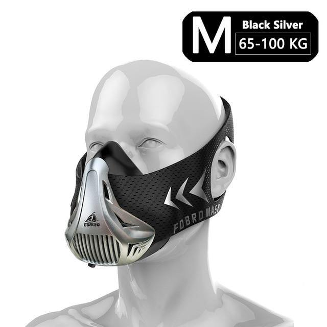 Tactical Fitness/Sports Running/Cycling/Training Mask Men/Women with Airflow Control