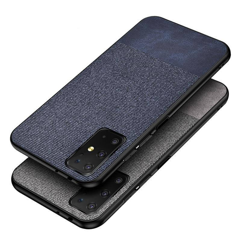 Cloth Fabric Phone Case For Samsung Galaxy S20 Ultra Plus S10e 5G Note 10 Lite A20 30 50S 90 A51 71 S7 Edge M30scases - Kalsord
