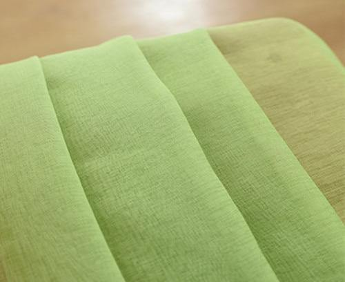 Green | Yellow Gradient Colored Window Curtains For Living Room | Bedroom | Kitchen Tulle Curtains - Kalsord