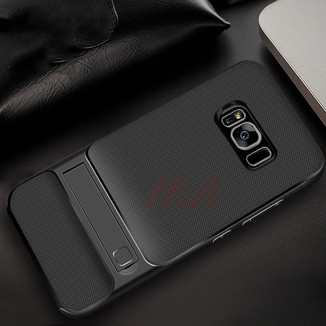 Kickstand Phone Case For Samsung Galaxy S9 S8 Plus A5 A7 A6 J4 J6 J5 J7 Plus 2017 2018 Note 9 8Cases - Kalsord