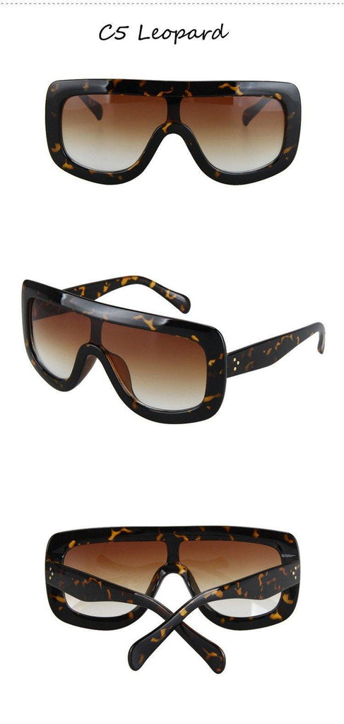 Women's Big Frame Square Sunglassessunglasses - Kalsord