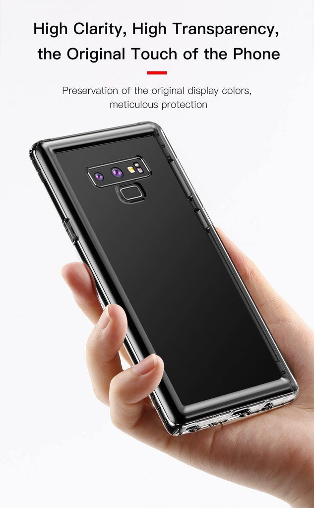 Transparent TPU Anti-shock Silicone Case For Samsung Galaxy Note 9cases - Kalsord