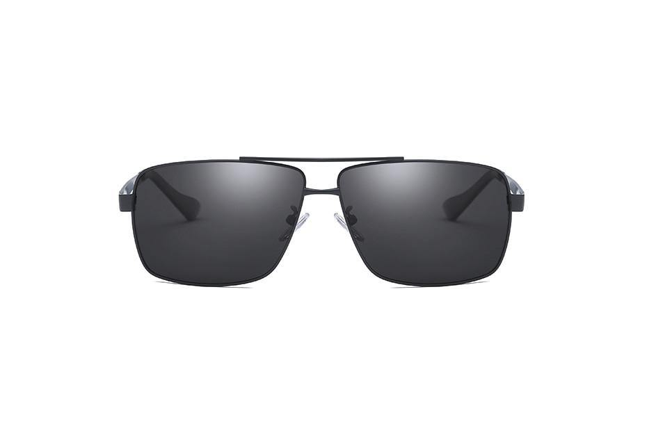 Men's Polarized UV400 Rectangular Sunglassessunglasses - Kalsord