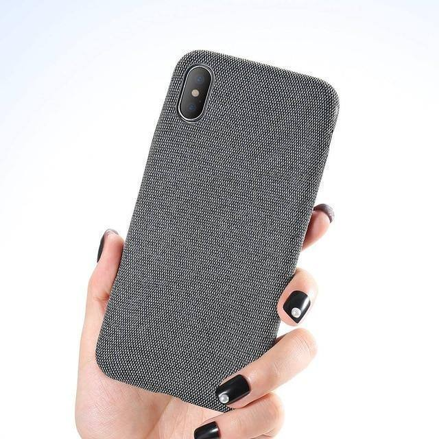 Exquisite Cloth | Fabric | Denim Textured Phone Case For iPhone XR X XS MAX 7 8 6 6S Plus iPhone 11 Pro Max 11 Pro 11cases - Kalsord