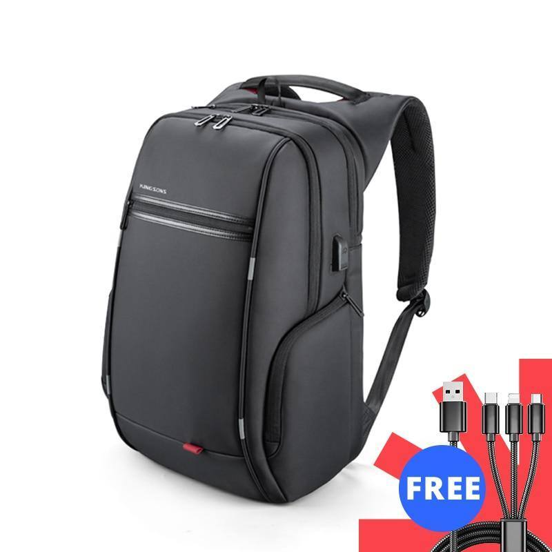 13, 15, 17 Inches  Laptop Backpack External USB Charge Anti-theft Waterproof  Backpacks/ Bags for Men Women