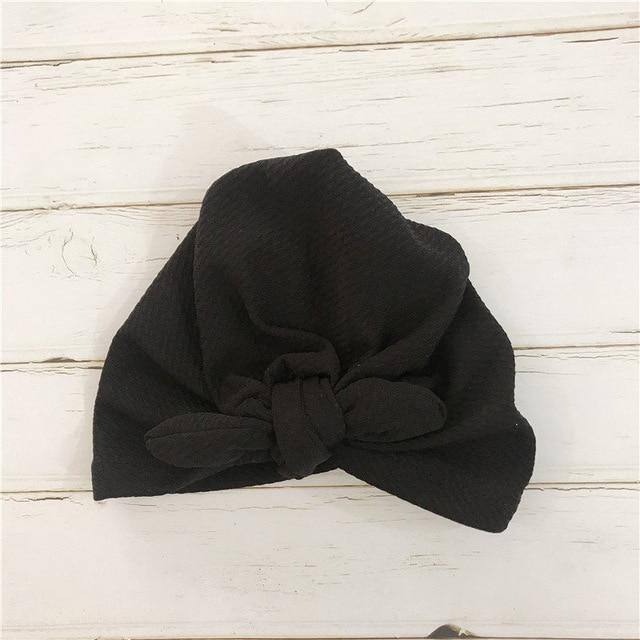 Cute Baby Bow Knot Turban/Hat/Cap/Headband Infant Headwrap - Kalsord