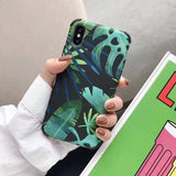 Abstract Flowers | Leaves Phone Case For iPhone 6 6S 7 8 PlusCases - Kalsord