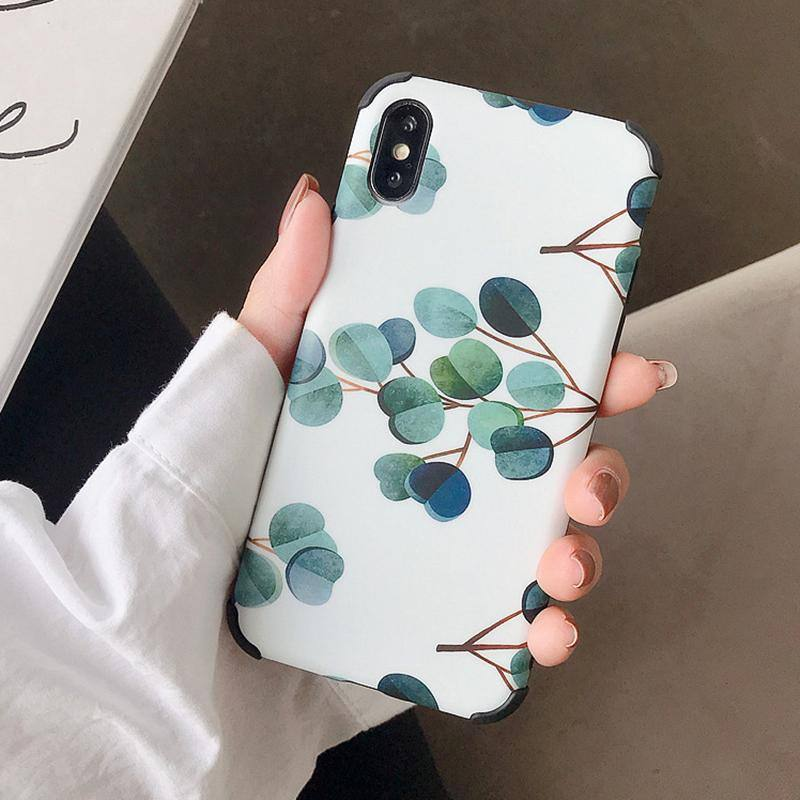 Cute Vivid Leaf | Nature Phone Case For iPhone XR XS Max 6 6S 7 8 Plus Xcases - Kalsord