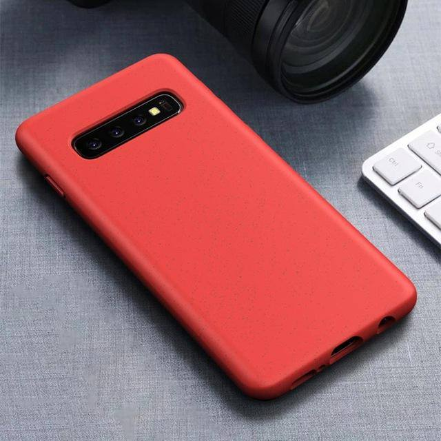 Silicone Phone Case For Samsung Galaxy S10 Plus S10e Note 10+ Note 10- 6 Colorscases - Kalsord
