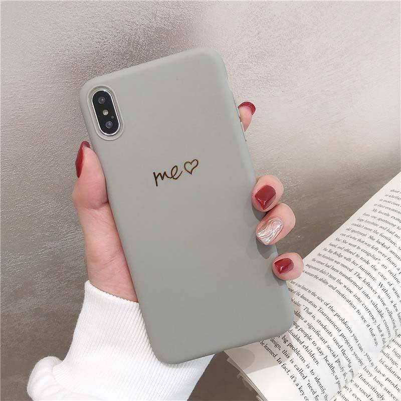 ME & YOU Soft Phone Case Cover For iPhone 6 6S 7 8 Plus XS Max XR Xcases - Kalsord