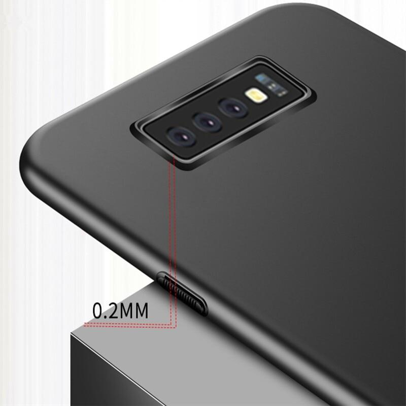 Matte Case For Samsung S10E S10 Plus M20 M10 A750 A6 A8 Plus A9 J4 J6 J8 2018 Note 9 8 S9 S8cases - Kalsord