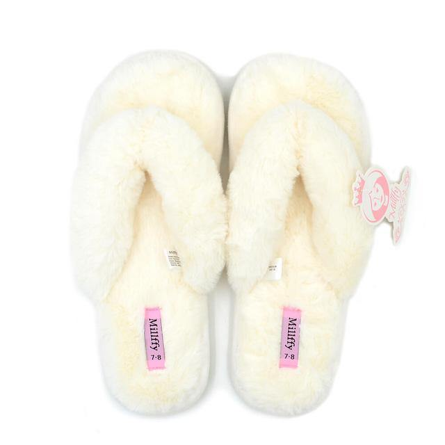 Women's Bow Indoor Slipper- Blue, Beige, PinkSlippers - Kalsord