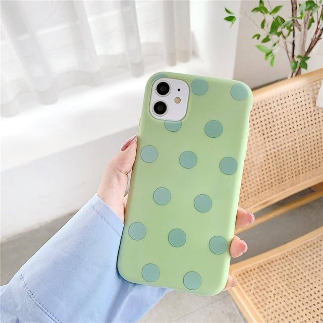 Multicolor Dot Case Soft TPU Case/Cover For iPhone