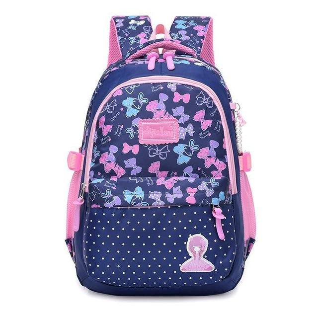 Cute Flowers School Bag/Backpack For Kids/Girls- 5 Colors - Kalsord