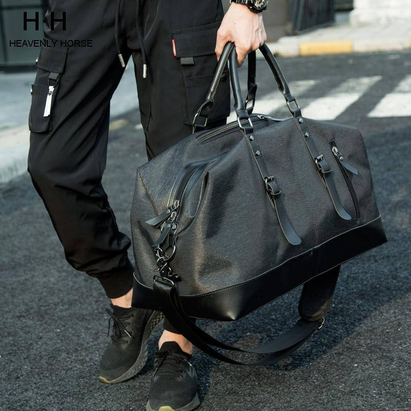 Men's High Capacity Travel Luggage Water Resistant Oxford Bag Men for Trip | travel - Kalsord