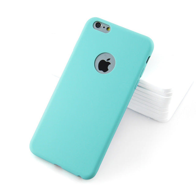 Soft Silicone Case For iPhone 6 S 6S 7 8 Plus 5 5S X 10 XR XS Max 6Plus 6SPlus 7Pluscases - Kalsord