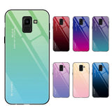 Colorful Gradient Phone Case For Samsung Galaxy S10E S10 Plus A9 A8 A7 A6 J4 J6 J8 2018 Note9 8 S8 S9 Plus