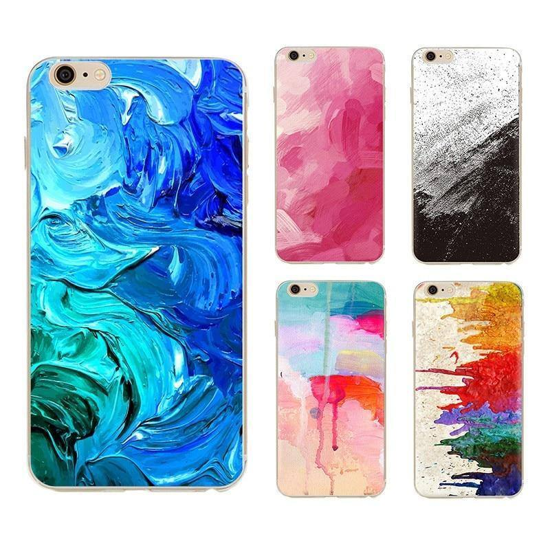Abstract Watercolor | Aquarelle | Paint Phone case For Iphone X XR 7 8 Plus 6 6s X XScases - Kalsord