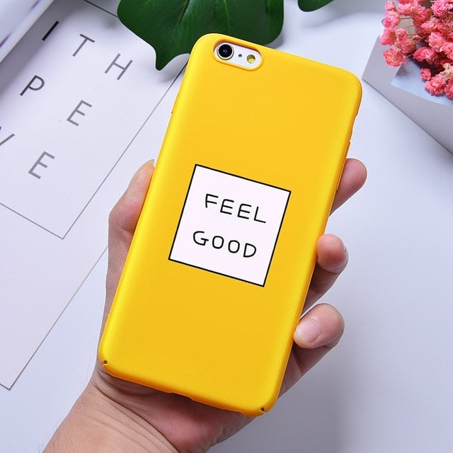 Funny Slogan Phone Case for iPhone 6 6S 7 8 Plus XCases - Kalsord