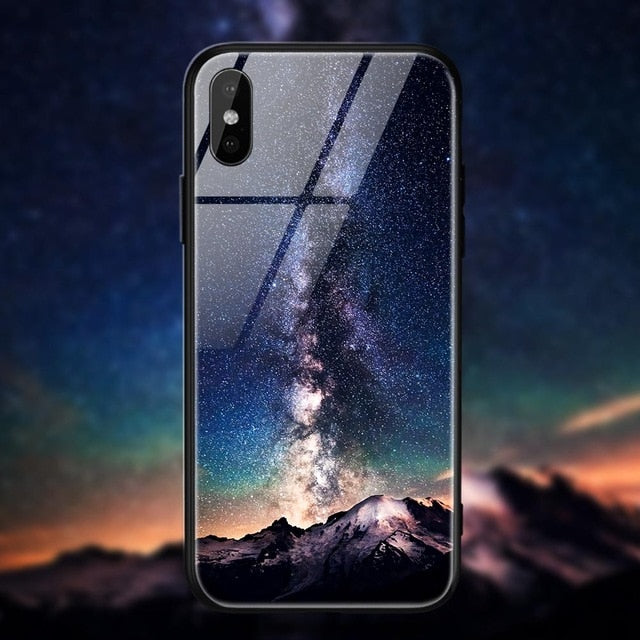 Space Star Case For iPhone X Xs 7 6 S 6s 8 PlusCases - Kalsord