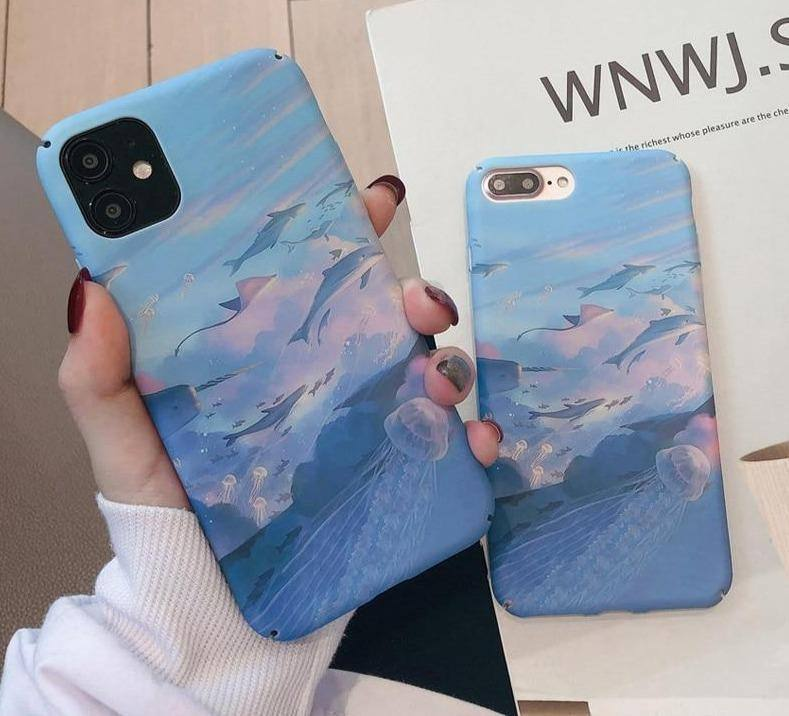 Beautiful Ocean World Phone Case/Cover For iPhone 11 Pro Max 6 6s 7 8 Plus X XS XR Xs Max