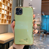 Electroplate Candy Color Phone Case For iPhone 11 Pro Max X XR Xs Max iPhone 6 6s 7 8 Pluscases - Kalsord