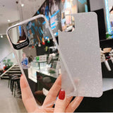 Transparent Acrylic Glitter Paper Phone Case For iPhone 11 Pro Max X XR Xs Max 6 6s 7 8 Pluscases - Kalsord