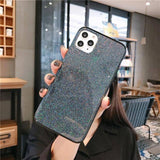 Ultra Thin Hard PC Glitter Bling Phone Case For iPhone 11 Pro Max X XS XR Xs Max iPhone 7 8 Pluscases - Kalsord
