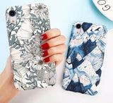 Unique Floral | Leaf Designs Phone Case For iPhone XR XS Max X 8 Plus 7 6 6s PlusCases - Kalsord